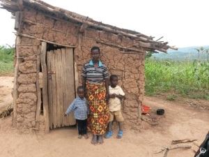 Women for Rwanda is building Nyira a new house.